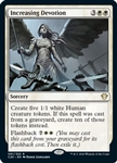 Increasing Devotion - Ikoria Commander 2020 - Rare