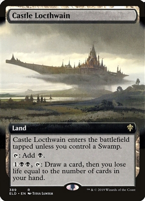 Castle Locthwain - Extended Art - Throne of Eldraine Collector Boosters - Rare