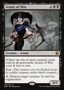 Avatar of Woe - Conspiracy: Take the Crown - Mythic Rare
