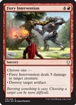Fiery Intervention - Dominaria - Common