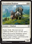 Excavation Elephant - Dominaria - Common