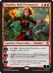 Chandra, Bold Pyromancer - Dominaria - Mythic Rare
