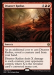 Disaster Radius - Explorers of Ixalan - Rare