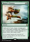 Hunter's Prowess - Explorers of Ixalan - Rare