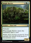Jungle Barrier - Explorers of Ixalan - Uncommon