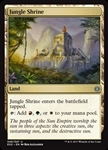 Jungle Shrine - Explorers of Ixalan - Uncommon