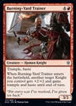 Burning-Yard Trainer - Throne of Eldraine - Uncommon