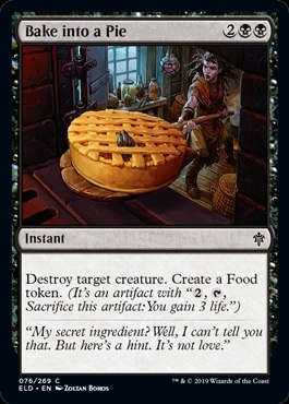 Bake into a Pie - Throne of Eldraine - Common