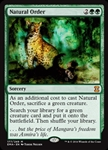 Natural Order - Eternal Masters - Mythic Rare