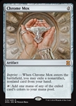 Chrome Mox - Eternal Masters - Mythic Rare
