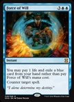 Force of Will - Eternal Masters - Mythic Rare