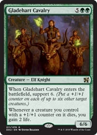 Gladehart Cavalry - Duel Decks: Elves vs. Inventors - Rare