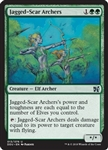 Jagged-Scar Archers - Duel Decks: Elves vs. Inventors - Uncommon