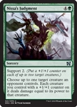 Nissa's Judgment - Duel Decks: Elves vs. Inventors - Uncommon