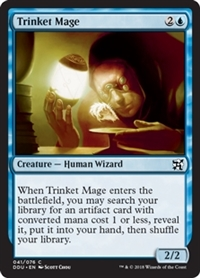 Trinket Mage - Duel Decks: Elves vs. Inventors - Common