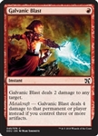 Galvanic Blast - Duel Decks: Elves vs. Inventors - Common