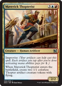 Maverick Thopterist - Duel Decks: Elves vs. Inventors - Uncommon