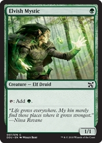Elvish Mystic - Duel Decks: Elves vs. Inventors - Common