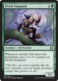Elvish Vanguard - Duel Decks: Elves vs. Inventors - Common