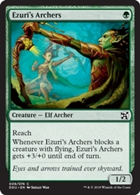 Ezuri's Archers - Duel Decks: Elves vs. Inventors - Common