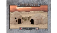 Battlefield in a Box - Galactic Warzones - Desert Buildings