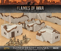 Battlefield in a Box - Ruined Desert Houses