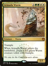 Armada Wurm - Guild Kit - Mythic Rare