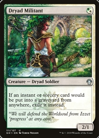 Dryad Militant - Guild Kit - Uncommon
