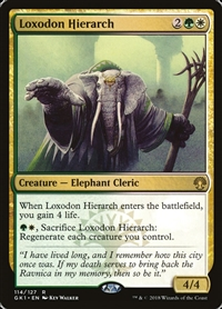 Loxodon Hierarch - Guild Kit - Rare