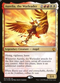 Aurelia, the Warleader - Guild Kit - Mythic Rare