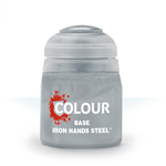 BASE - IRON HANDS STEEL - 12ml - Games Workshop