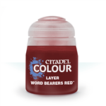 LAYER - WORD BEARERS RED - 12ml - Games Workshop