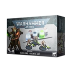 NECRONS PAINT SET + CANADA/POLAND/SCANDA