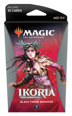 Ikoria: Lair of Behemoths Theme Booster: Black Preorder Ships May 15