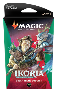 Ikoria: Lair of Behemoths Theme Booster: Green Preorder Ships May 15