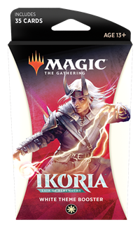 Ikoria: Lair of Behemoths Theme Booster: White Preorder Ships May 15
