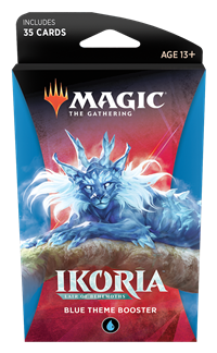 Ikoria: Lair of Behemoths Theme Booster: Blue Preorder Ships May 15