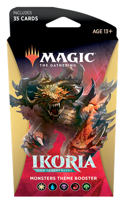 Ikoria: Lair of Behemoths Theme Booster: Monster Preorder Ships May 15