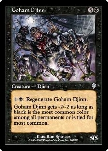 Goham Djinn - Invasion - Uncommon