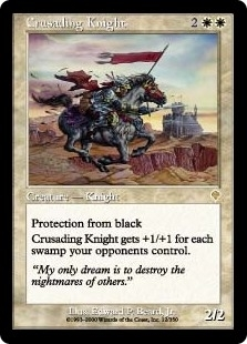 Crusading Knight - Invasion - Rare