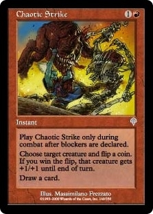 Chaotic Strike - Invasion - Uncommon