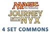 Journey into Nyx 4 Set Commons
