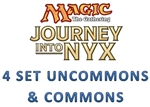 Journey into Nyx 4 Set Uncommons & Commons