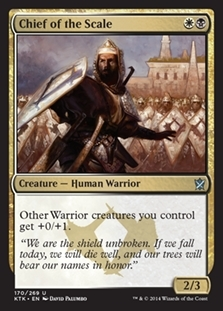 Chief of the Scale - Khans of Tarkir - Uncommon