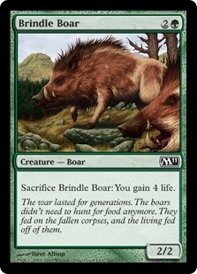 Brindle Boar - Magic 2011 - Common