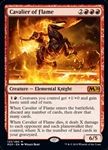 Cavalier of Flame - Core Set 2020 - Mythic Rare