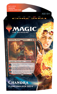 Core Set 2021 Planeswalker Deck: Chandra