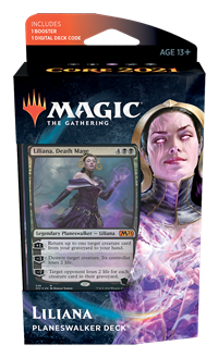 Core Set 2021 Planeswalker Deck: Liliana