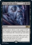 Peer into the Abyss - Core Set 2021 - Rare