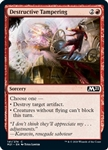 Destructive Tampering - Core Set 2021 - Common